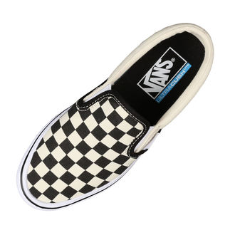rövidszárú cipő férfi - UA SLIP-ON LITE (CHECKERBOARD) - VANS