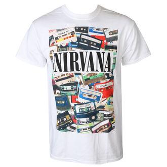 metál póló férfi Nirvana - CASSETTES - PLASTIC HEAD, PLASTIC HEAD, Nirvana