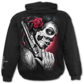 kapucnis pulóver férfi - DEATH PISTOL - SPIRAL, SPIRAL