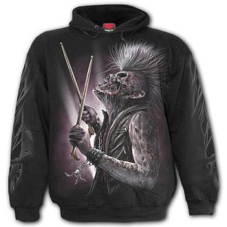kapucnis pulóver férfi - ZOMBIE - SPIRAL, SPIRAL