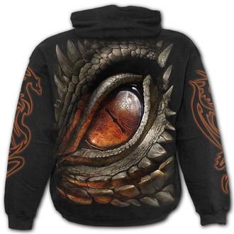 kapucnis pulóver férfi - DRAGON EYE - SPIRAL, SPIRAL