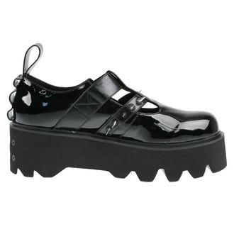 cipő ék női - Violet - DISTURBIA