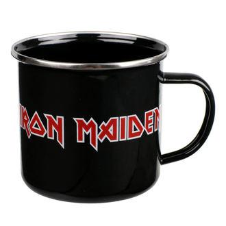 Iron Maiden Zománc Bögre - Logo, NNM, Iron Maiden