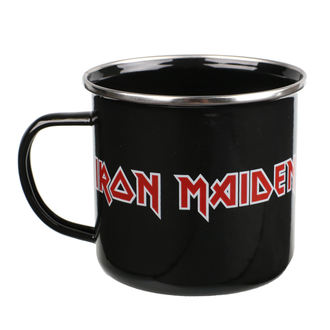 Iron Maiden Zománc Bögre - Logo, Iron Maiden