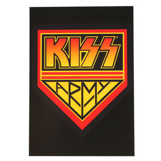 KISS Képeslap - ARMY LOGO - ROCK OFF, ROCK OFF, Kiss