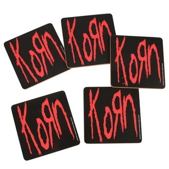 KORN poháralátét - ROCK OFF, ROCK OFF, Korn