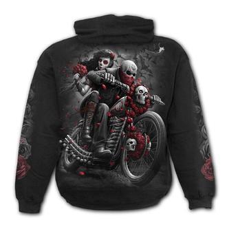 kapucnis pulóver férfi - DOTD BIKERS - SPIRAL, SPIRAL