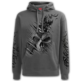 kapucnis pulóver férfi - NIGHT RIFFS - SPIRAL, SPIRAL