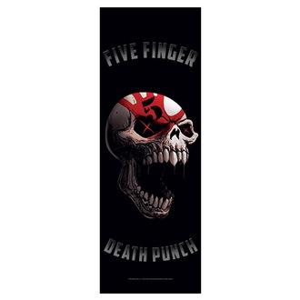 Five Finger Death Punch Zászló - Speech Skull, HEART ROCK, Five Finger Death Punch