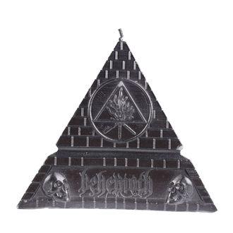 BEHEMOTH Gyertya - UNHOLY TRINITY PYRAMID - FEKETE - PLASTIC HEAD, PLASTIC HEAD, Behemoth