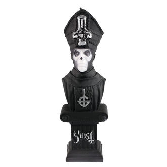 GHOST Gyertya - PAPA EMERITUS - FEKETE MATT - PLASTIC HEAD, PLASTIC HEAD, Ghost