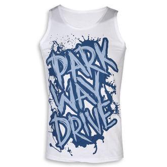 Parkway Drive Férfi felső - Blue Logo - fehér - KINGS ROAD, KINGS ROAD, Parkway Drive