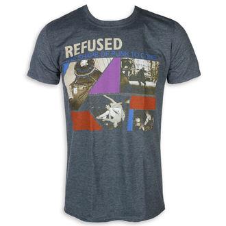 metál póló férfi Refused - The Shape Of Punk - KINGS ROAD, KINGS ROAD, Refused