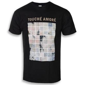 tričko pánské Touche Amore - Palm Dreams - Black - KINGS ROAD, KINGS ROAD, Touche Amore
