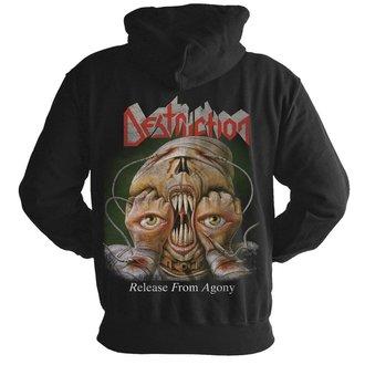kapucnis pulóver férfi Destruction - Release from agony 30 years - NUCLEAR BLAST, NUCLEAR BLAST, Destruction