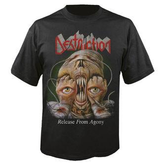 metál póló férfi Destruction - Release from agony 30 years - NUCLEAR BLAST, NUCLEAR BLAST, Destruction
