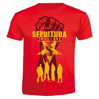 metál póló férfi Sepultura - Nation - NUCLEAR BLAST, NUCLEAR BLAST, Sepultura