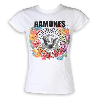 metál póló női Ramones - Circle Flowers - ROCK OFF, ROCK OFF, Ramones