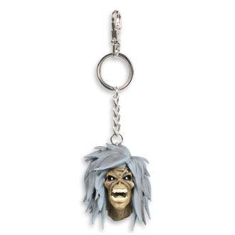 Iron Maiden Kulcstartó - Legacy of the Beast - Szent dohányzik Eddie, NNM, Iron Maiden