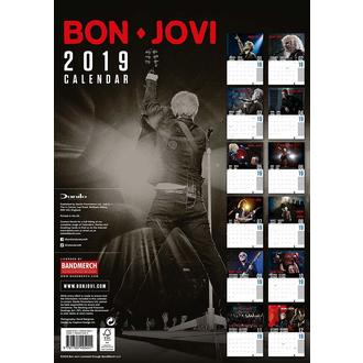 2019 Naptár BON JOVI, NNM, Bon Jovi
