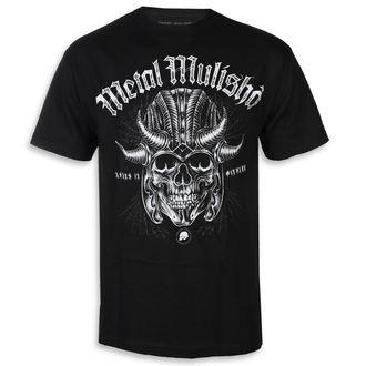 utcai póló férfi - WARHAMMER BLK - METAL MULISHA, METAL MULISHA