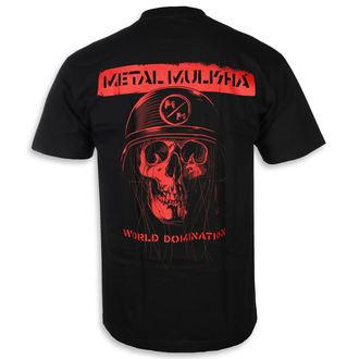 utcai póló férfi - UNDEAD BLK - METAL MULISHA, METAL MULISHA