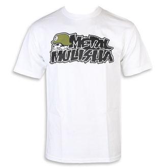 utcai póló férfi - IKON WHT - METAL MULISHA, METAL MULISHA