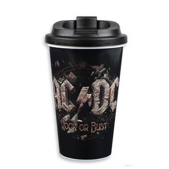 AC  /  DC  Csésze  - to Go - FBI., F.B.I., AC-DC