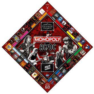 AC  /  DC Tábla játék - Monopoly, NNM, AC-DC