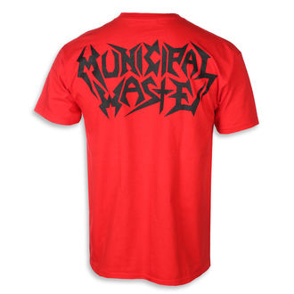 metál póló férfi Municipal Waste - Skelbot red -, Municipal Waste