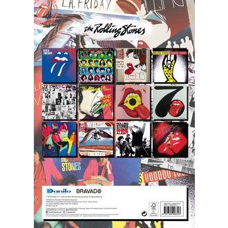 2019 Naptár - ROLLING STONES, Rolling Stones