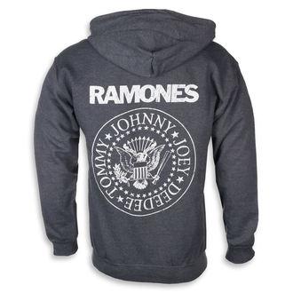 kapucnis pulóver férfi Ramones - HEY HO LET'S GO - PLASTIC HEAD, PLASTIC HEAD, Ramones