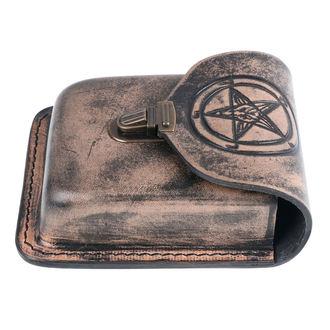 Öv táska - Baphomet, Leather & Steel Fashion