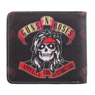 Guns N' Roses Pénztárca - Appetite For Destruction, NNM, Guns N' Roses
