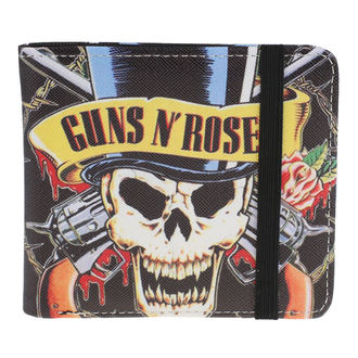 Guns N' Roses Pénztárca - Skull N Guns, NNM, Guns N' Roses