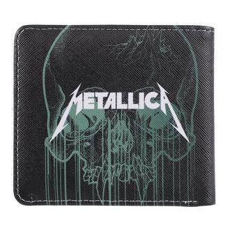 Metallica Pénztárca - Skull, NNM, Metallica