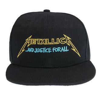 Metallica Sapka - Justice Bright Starter - Fekete, NNM, Metallica
