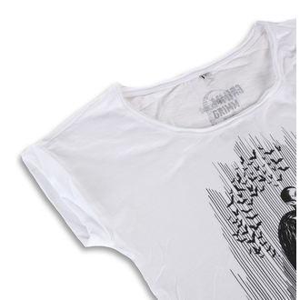 hardcore póló női - DRACULA WHITE - GRIMM DESIGNS