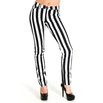 3RDAND56th férfi nadrág - Stripe Skinny - BLK / WHT, 3RDAND56th