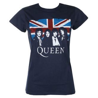 Női póló Queen - Vintage Union Jack - ROCK OFF, ROCK OFF, Queen