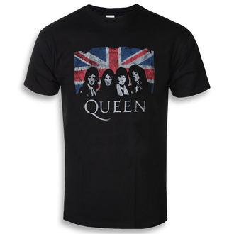 metál póló férfi Queen - Union Jack - ROCK OFF, ROCK OFF, Queen