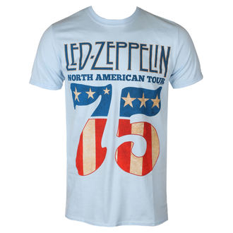 metál póló férfi Led Zeppelin - 1975 North American Tour - NNM, NNM, Led Zeppelin