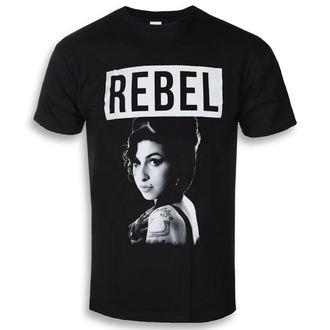 metál póló férfi Amy Winehouse - Rebel - ROCK OFF, ROCK OFF, Amy Winehouse