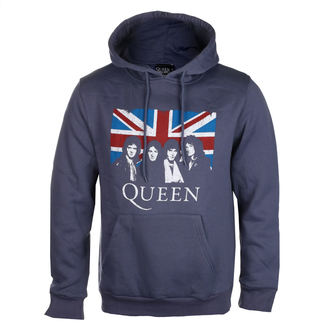 kapucnis pulóver férfi Queen - Vintage Union Jack - ROCK OFF, ROCK OFF, Queen