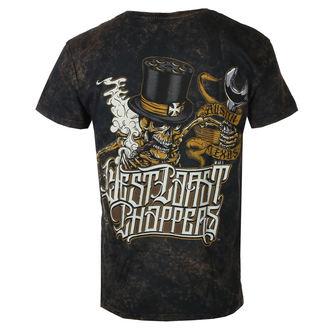 tričko pánské WEST COAST CHOPPERS - ONRIDE - Solid Brown, West Coast Choppers