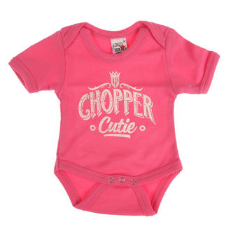 Gyermek ruha WEST COAST CHOPPERS - ONESIE CHOPPER CUTIE BABY CREEPER - Rózsa, West Coast Choppers