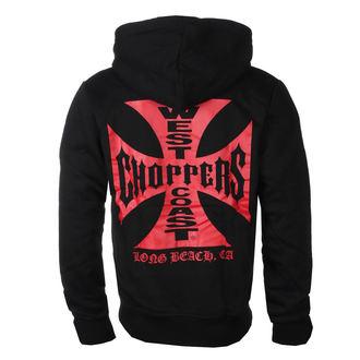 kapucnis pulóver férfi - RED OG CROSS - West Coast Choppers, West Coast Choppers