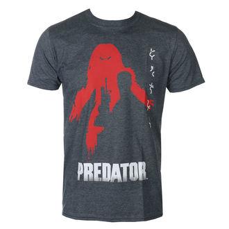 filmes póló férfi Predator - Dark-Heather - HYBRIS, HYBRIS, Predator