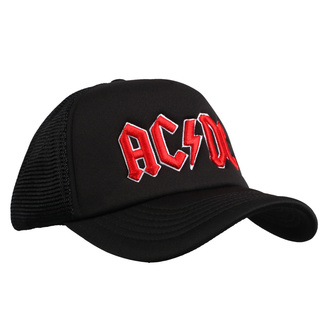 Sapka  AC  /  DC  - Red Logo Black - ROCK OFF - ACDCMBCAP01B