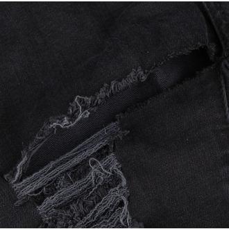 nadrág nők DISTURBIA - Black Metal - DIS801-BLK - SÉRÜLT, DISTURBIA